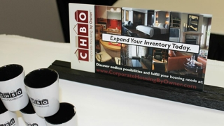 Corporate Housing by Owner booth at CHPA