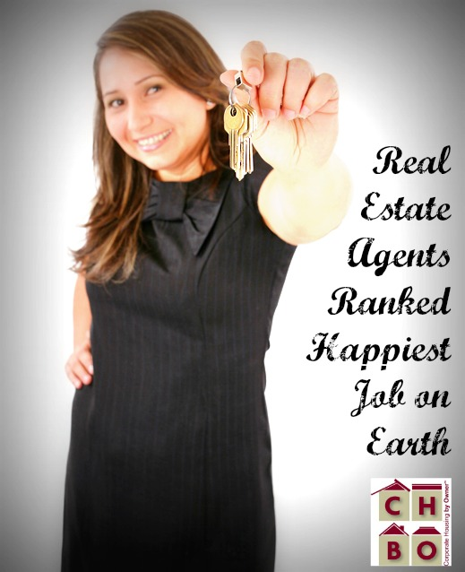 real estate agent ranked happiest profession